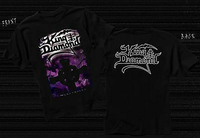 KING DIAMOND-The Graveyard-Danish heavy metal musician,T_shirt- sizes: S to 6XL