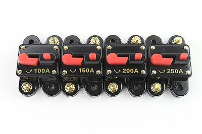 Circuit Breaker 100,150, 200, 250 AMP - Long Lasting