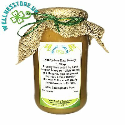 HONEYDEW HONEY 1,25 kg Pure Natural 2016 Raw ECO Harvest LIGHT LIME TREE VARIETY