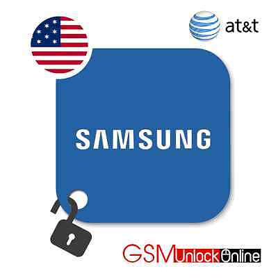 Premium Unlock Code For AT&T USA Samsung Galaxy S6 Active S7 Edge Note 4 5 N930F