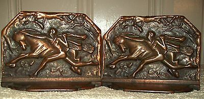 Sale! Horse Tamer Cast Iron Bookends