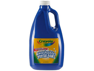 Crayola Washable Poster Paint 2l Blue
