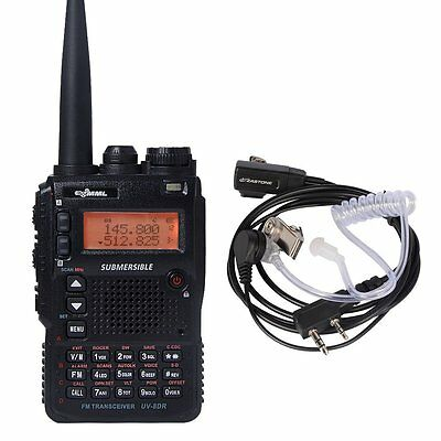 UV-8DR Dual-Band Submersible Two Way Amateur Radio Transceiver And gift Earpiece