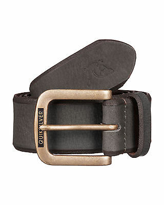NEW QUIKSILVER™  Mens On The Edge Leather Belt Accessories