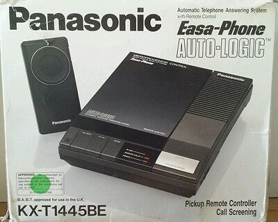 Panasonic easa-phone auto telephone answering system kx-t1445be
