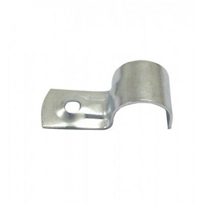 20mm Electrical Conduit Saddles - 100 Pack