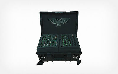 A4 Warhammer 40k Carry Case Stencil  Aquila Gaming Art Airbrush Miniatures Mylar