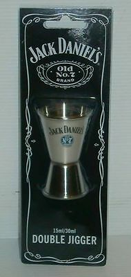 Jack Daniel's brand new double jigger measure for home brew bar,pub or collector