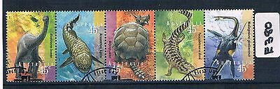 1997 Prehistoric Animals Strip Fine Used    E380