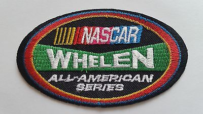 NASCAR WHELEN a GREEN MOTOR RACING CAR SPEED FESTIVAL SEW ON IRON ON PATCH: