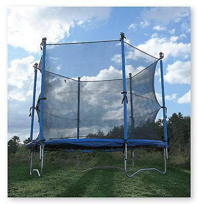 8Ft Trampoline With Free Safety Net Enclosure Garden Kids Outdoor