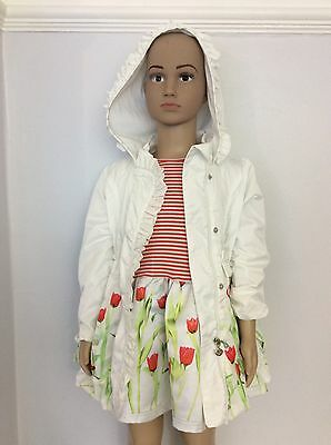 A Dee Girls Outfit, Size Age 3-4 Years , Dress  & Jacket, Poppy, Vgc
