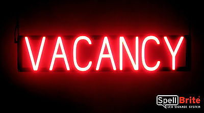 SpellBrite Ultra-Bright VACANCY Sign Neon-LED Sign (Neon look, LED performance)