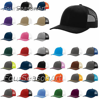 f8f454257d16b RICHARDSON TRUCKER BALL Cap Mesh back Hat Snapback Cap 112 free ...