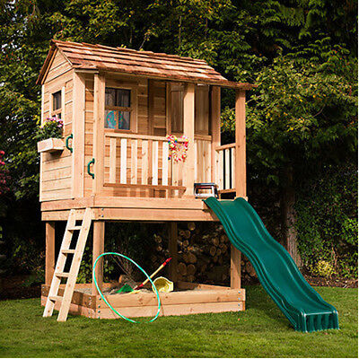 Playhouse Kit Complete Condo Kit Kids Pretend Outdoor