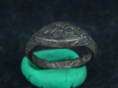 "Ancient Islamic Bronze Ring C.900 Ad        ""r1117"" • CAD $18.88"