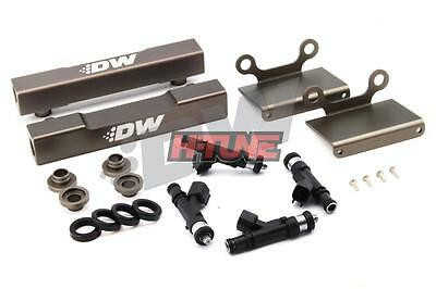 DeatschWerks Top-Feed Fuel Rail Conversion (w/ 1000cc Injectors) - Subaru EJ20 (