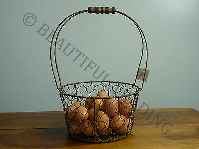 Wire Basket - City Farmhouse Chic - French Interior