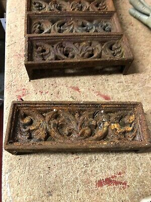 Cast Iron Air brick Ornamental Acanthus Vent Air brick Cast Air Vent