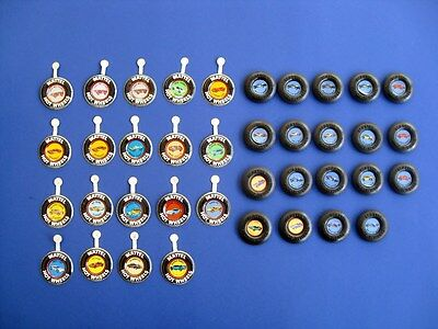 1960s AND 1970s HOT WHEELS COLLECTORS BUTTONS LOT  **38 TOTAL BUTTONS**