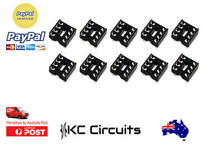 10pcs 8 pin DIP IC Sockets Adaptor
