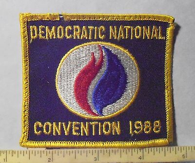 Patch ~ Democratic National Convention 1988