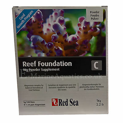 RED SEA REEF FOUNDATION 'C' MAGNESIUM (Mg) 1Kg POWDER