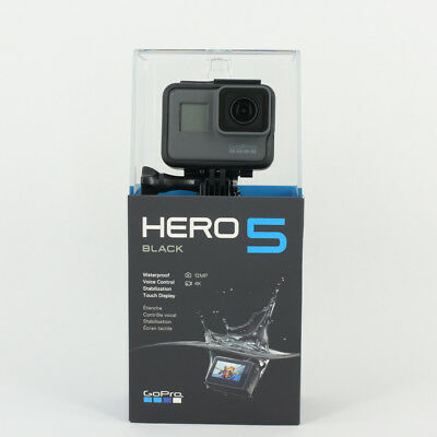Brand New Gopro Hd Hero 5 Hero5 Black Edition Action Camera + 32Gb Micro Sd Card