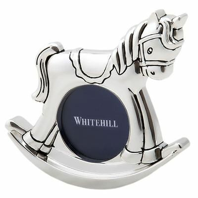 Whitehill - Silver Plated EP Photo Frame Rocking Horse 19cm