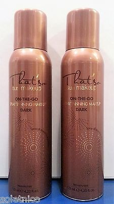 TANNING FOR ISRAEL 2 THAT SO SUN MAKE-UP SPRAY TAN whit DHA color DARK 125ml.