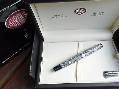 Aurora Optima Auroloide Nero Perla Fountain Pen Sale