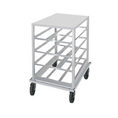 Advance Tabco CRPL10-72 Low-Profile Mobile Can Rack