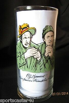 SET Of 3 1983 Complete Collectible Mash 4077th Drinking Glasses Main Characters