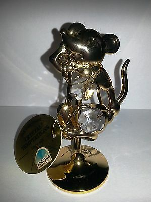 K Mouse 24K Gold Plated CRYSTAL TEMPTATIONS with Spectra Swarovski crystal