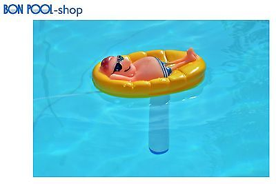 Wasserthermometer Mann in Pool Schwimmbad BON POOL