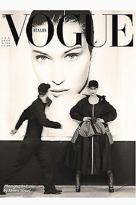 Vogue Italia Magazine September 2016  BELLA HADID Frederikke Sofie Kiki Willems