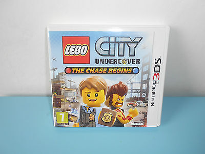 16.9.11.18 LEGO City Undercover The chase begins 3DS Fr Jeu Nintendo