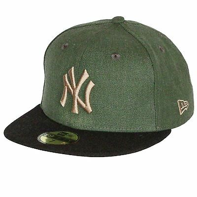 New Era and MLB Heather Contrast 59Fifty Cap ~ New York Yankees