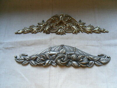 "two French Decorative Bronze Furniture - Pediment 19th and  1900 ""art déco"""