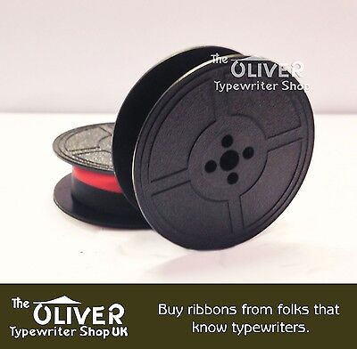 BROTHER  DeLuxe 800T  TYPEWRITER RIBBON    (BLACK OR BLACK AND RED)