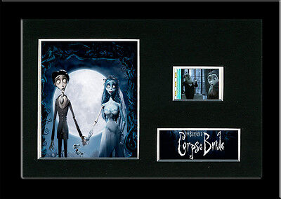 The Corpse Bride Framed 35mm Mounted Film cells - filmcell movie memorabilia