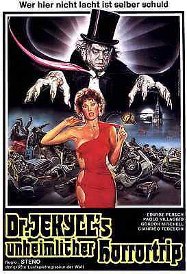 Dr. Jekyll Likes Them Hot Movie POSTER (1979) Comedy