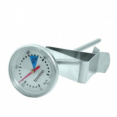 Milk Frothing/Coffee Thermometer - 150mm Probe, Easy to Read!