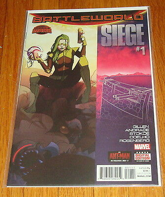 2015 Siege #1 1st Print Battleworld Secret Wars Gillen