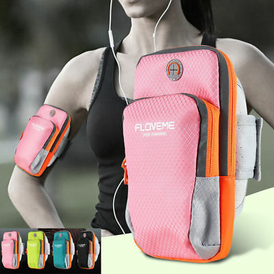 "6.0"" Sport Armband Gym Running Jogging Cover Holder for iPhone Samsung Huawei LG"