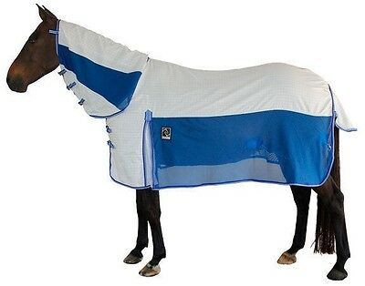 Kingsley Hybrid Mesh/Paddock Ripstop Neck Combo Horse Rug. Cool, High Air Flow