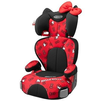 New Graco Junior Maxi Plus Child booster seat washable cover Hello Kitty Japan