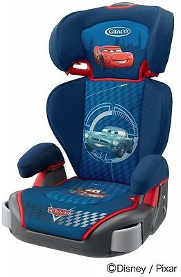 New Graco Junior Maxi Plus Child booster seat washable cover Disney Cars Japan