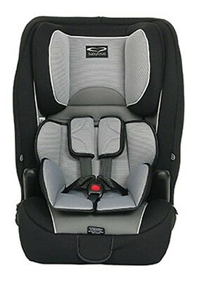 NEW Baby Love Harnessed Baby Car Seat Ezy Grow EP Silver #`80733