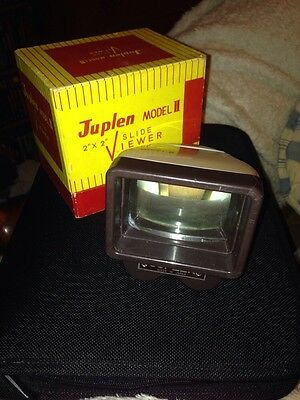 Juplen Model 2 Slide Viewer in box with original box